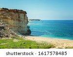 Beach On The Coast Of Cyprus...