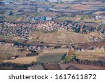 Winter Aerial View Of The...