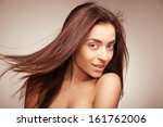 portrait of attractive... | Shutterstock . vector #161762006