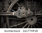 Old Steam Engine Train Wheels...