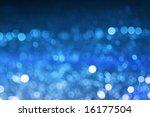 Light shining off water - stock photo
