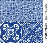 ceramic tiles azulejo portugal. ...   Shutterstock .eps vector #1617760822