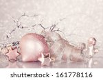 Christmas Pink Decoration With...