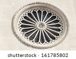 Detail The Rose Window Of The...