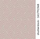seamless vector geometric strip ... | Shutterstock .eps vector #161791568
