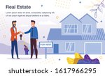 house rent service trendy flat... | Shutterstock .eps vector #1617966295
