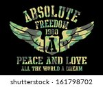peace and love absolute freedom ...