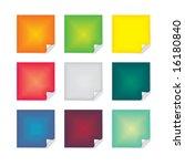 post it note | Shutterstock .eps vector #16180840