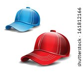 baseball cap | Shutterstock . vector #161812166