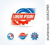 car service symbol emblem sign... | Shutterstock .eps vector #161812985