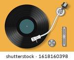 Vinyl Record. Vintage Record...