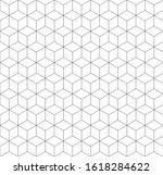 seamless geometric pattern... | Shutterstock .eps vector #1618284622
