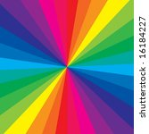 rainbow color makes a very...   Shutterstock .eps vector #16184227
