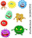 alien,animal,antibiotic,bacteria,bacterium,bad,biology,blue,bug,cancer,cartoon,cell,colorful,cute,danger
