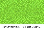 template green seamless pixel...