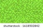template green seamless pixel...
