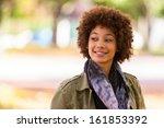 autumn outdoor portrait of... | Shutterstock . vector #161853392