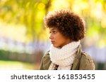 autumn outdoor portrait of... | Shutterstock . vector #161853455