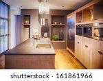 detail of modern kitchen  | Shutterstock . vector #161861966