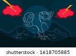 vector illustration topic of... | Shutterstock .eps vector #1618705885