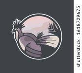queen bird logo design a vector ...   Shutterstock .eps vector #1618729675