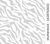 tiger stripes seamless pattern. ...   Shutterstock .eps vector #1618763632