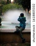 Young Boy Photographer Make A...