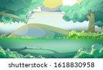 fairy tale cartoon art set | Shutterstock . vector #1618830958