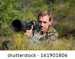 wild life professional...   Shutterstock . vector #161901806