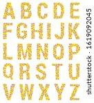 Flower Alphabet. The Letters O...