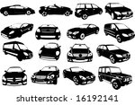 Stock vector vectorial image of cars 16192141