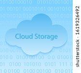 cloud storage icon . cloud...