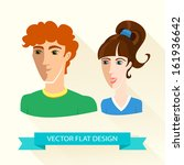 vector illustration of teenage...
