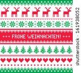 frohe weihnachten card  ...   Shutterstock .eps vector #161938052
