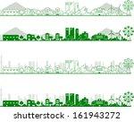 skylines | Shutterstock .eps vector #161943272
