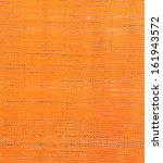 orange fabric texture background | Shutterstock . vector #161943572