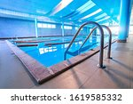 Pool Ladder With Stairs In...