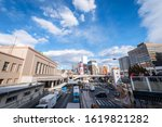 ueno  tokyo  japan  december 29 ... | Shutterstock . vector #1619821282