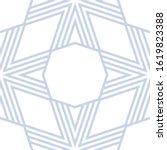 vector geometric seamless...   Shutterstock .eps vector #1619823388
