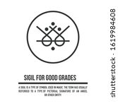 sigil for success in school. a...   Shutterstock .eps vector #1619984608