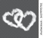 Fluffy Cloud Hearts Frame....