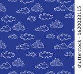 vector seamless pattern drawn... | Shutterstock .eps vector #1620033115