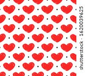 seamless pattern with hand...   Shutterstock .eps vector #1620039625