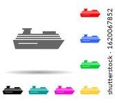 cruise  ship multi color style...