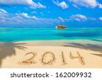 Numbers 2014 On Beach   Concep...