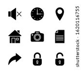 user interface icon set...