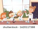 chemistry lesson. little...   Shutterstock .eps vector #1620117388