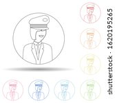 avatar of woman pilot in multi...