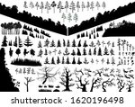 the biggest isolated trees... | Shutterstock .eps vector #1620196498