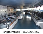 View Of The Control Console On...